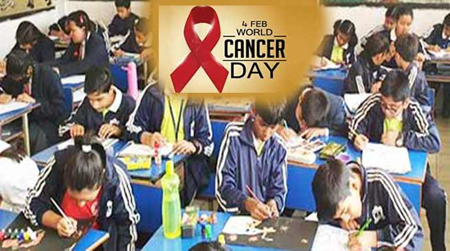 World Cancer Day- Army organised awareness campaign for the forces