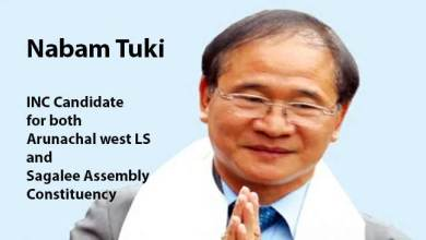 Photo of Arunachal: AICC Names Former CM Nabam Tuki for MP and MLA ticket- Takam Sanjoy