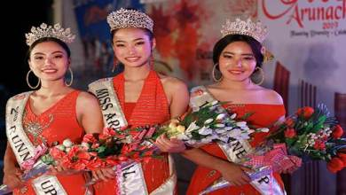 Photo of Roshni Dada crowned Miss Arunachal 2019