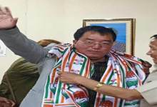 Photo of Arunachal: Engineer Tai Nikio turned politician, joins congress
