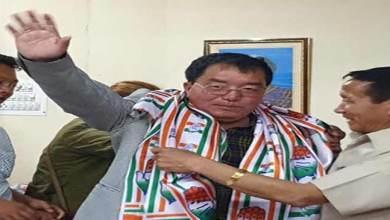 Photo of Arunachal:Engineer Tai Nikio turned politician, joins congress