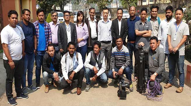 Itanagar: Media fraternity sensitize of MCC and other guidelines of ECI during election news coverage