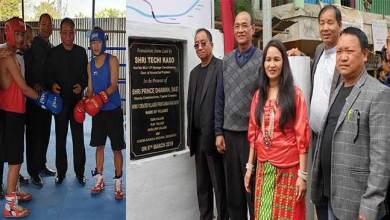 Photo of Itanagar:Three village and a Boxing ring inaugurated at Ganga panchayat