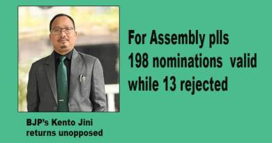 Arunachal polls: 198 nominations found valid, 13 rejected for assembly poll