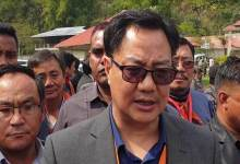 Arunachal: Congress played double role on PRC issue, alleged Kiren Rijiju
