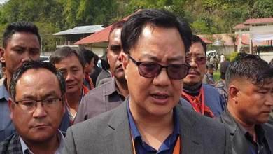 Photo of Arunachal: Congress played double role on PRC issue, alleged Kiren Rijiju
