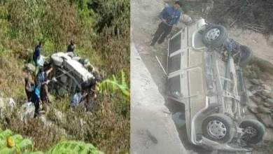 Photo of Arunachal: 3 dies, 2 injured in a road accident in Talo