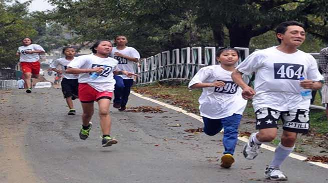 Itanagar: Run For a Free and Fair Election 2019 held