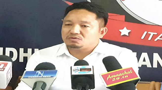 Arunachal: Guruk Pordung rejects Kumar Waii's allegations on attempt to murder