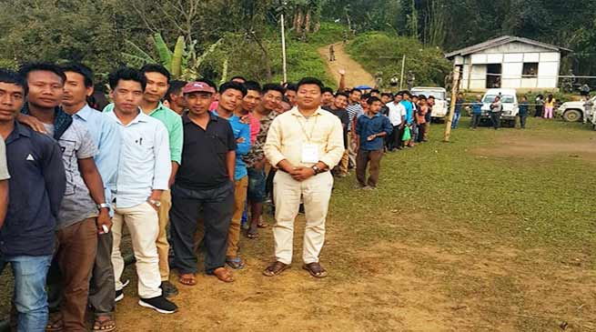 Arunachal: Re-polling begins in 19 polling stations