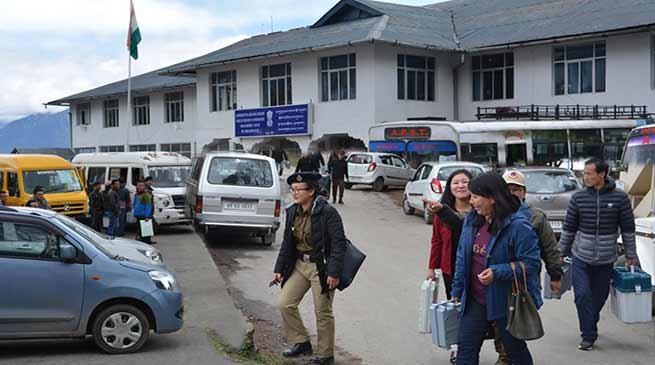 Arunachal polls: Polling team moving out for their destinations