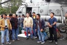 Photo of Arunachal: Polling personnel's and materials airlifted to Vijayanagar