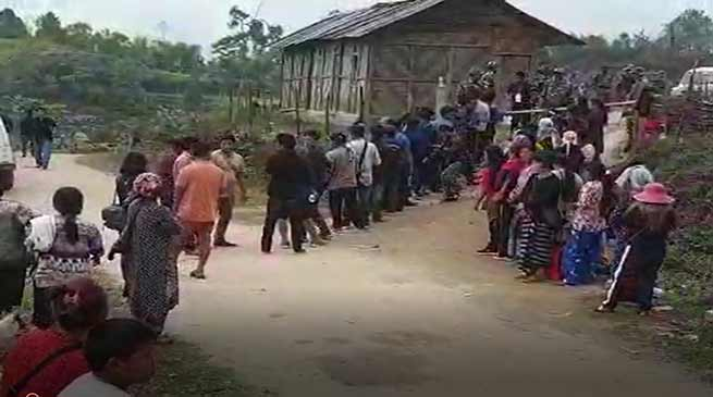 Arunachal: Repolling in 17 booths voter turnout 79.72 pc