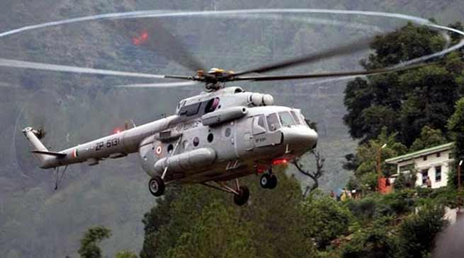 Arunachal Polls: Helicopters deployed to fly polling teams