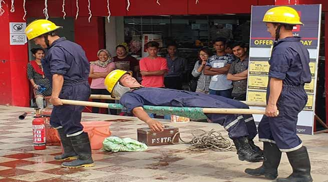 Itanagar: Week long fire safety week concludes