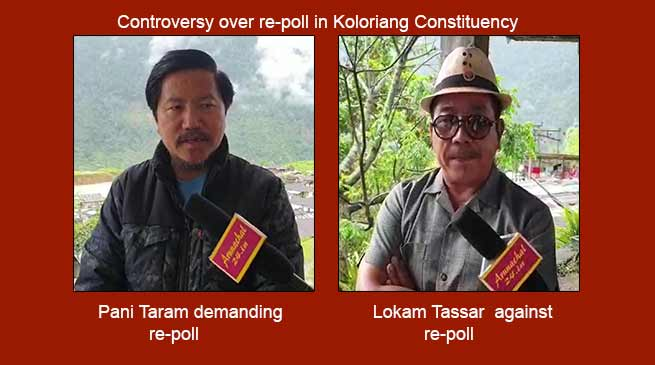 Arunachal: Controversy over re-poll in Koloriang Constituency