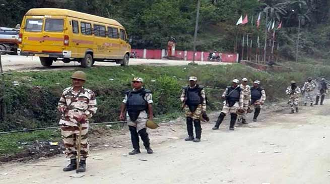 Arunachal: Palin Bandh against Firing incident on polling day