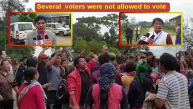 Photo of Arunachal Re-Poll: Controversy arises again in Rakso polling station