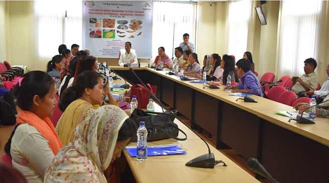 Arunachal: Training on Silkworm and cocoon technology