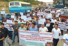 Photo of Tirap Ambush: ACS organises peace march to condemn killing of Late Tirong Aboh and others
