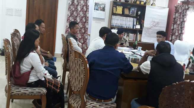 Itanagar: DC, SP, DTO discussed modalities to ease traffic congestion