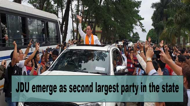 Arunachal Elections: JDU emerged as second largest party in the state