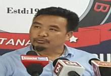 Photo of JD (U) Candidate Jikke Tako refutes BJP's allegation