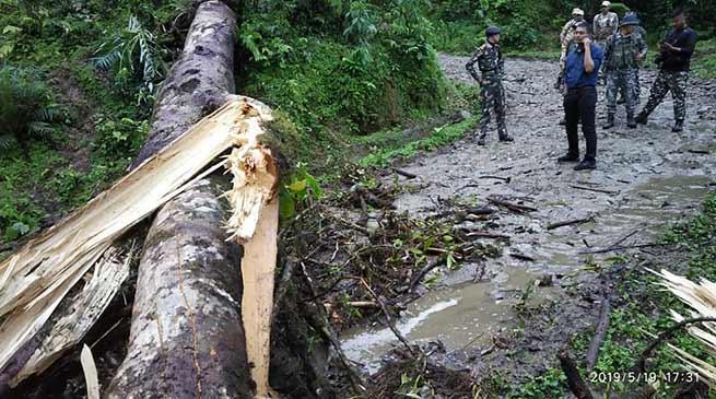 Arunachal:Koloriang under tense ahead of re-poll