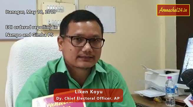 Arunachal: Nampe and Gimba PS to go for fresh poll again on May 21