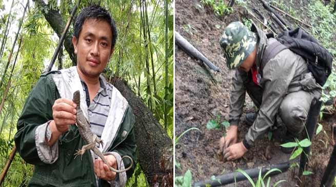 Arunachal: PANNRCC planted 500 teak saplings
