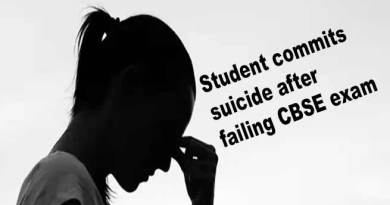 Arunachal: Student commits suicide after failing CBSE exam