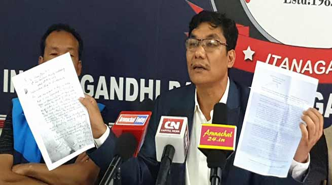 Arunachal: Suspend all officers who involved in manipulating election process- Takam Pario