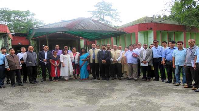 Itanagar: UGC team inspects the use Hindi language in RGU