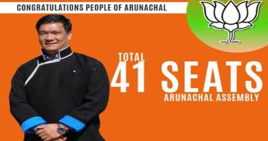 Arunachal: CM Khandu thanks the people of Arunachal for voting for BJP