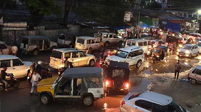 Itanagar: Violation of Traffic rules is a crime- Chakfa Wangsu