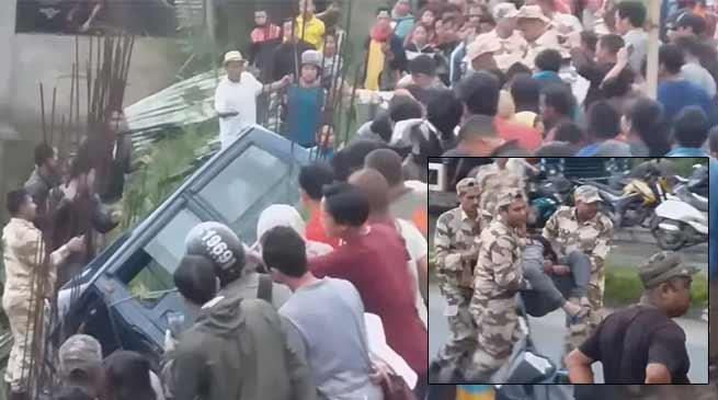 Itanagar: 3 people injured in school van accident