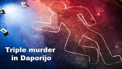 Photo of Arunachal: Triple murder in Daporijo, accused surrender before the police