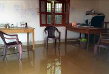 Photo of Arunachal: Borum PHC flooded with rain water