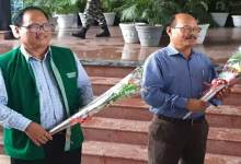 Itanagar: Two IAS officers Gamli Padu and Marnya Ete retire today
