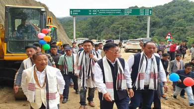 Arunachal: Joram-Koloriang road Package I & II flagged off