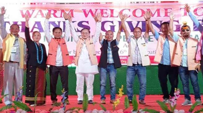 Arunachal: Nabam Tuki reiterated his commitment for development of Sagalee