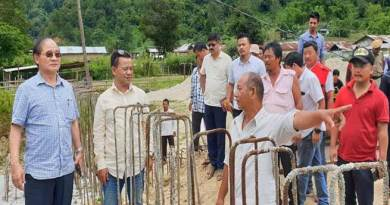 Arunachal: Tuki inspected various infrastructure projects in Sagalee Constituency
