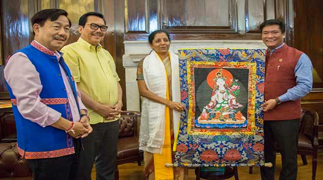 Pema Khandu seeks financial assistance from Centre for Development of Arunachal Pradesh