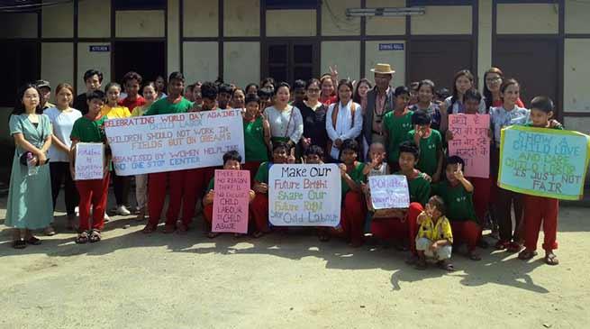 Arunachal: OWA celebrates World Day Against Child Labour