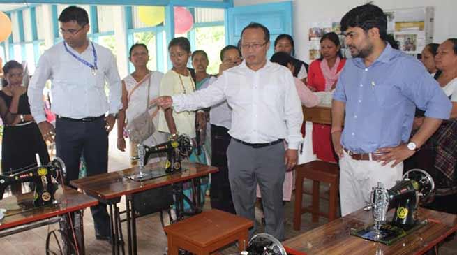 Arunachal: Re-usable Sanitary Napkin Production Unit inaugurated at Bordumsa