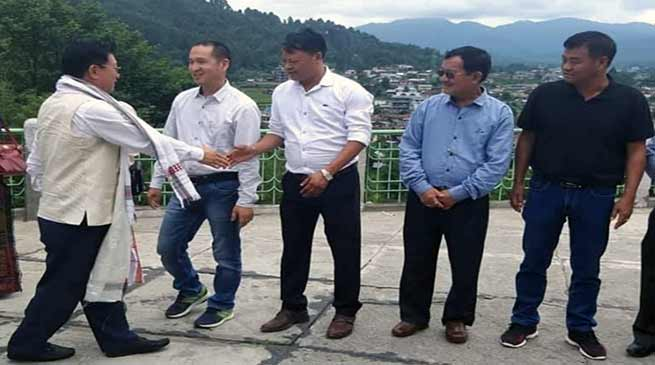 Arunachal: Taba Tedir reviewed the education scenario of the Lower Subansiri