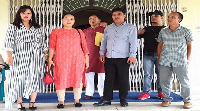 Zenith Sangma convene meeting with APCC office bearers