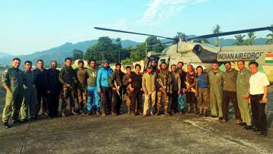 Photo of Arunachal: IAF retrieves all members mountaineering rescue team from AN-32 crash site
