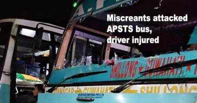 Arunachal: Miscreants attacked APSTS bus, driver injured