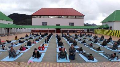 Photo of  5th International Yoga Day: Indian and Chinese Army jointly celebrates along the LAC
